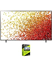 $1376 » LG 65NANO90UPA 65 Inch HDR 4K UHD Smart NanoCell LED TV Bundle with Premium 4 Year Extended Protection Plan