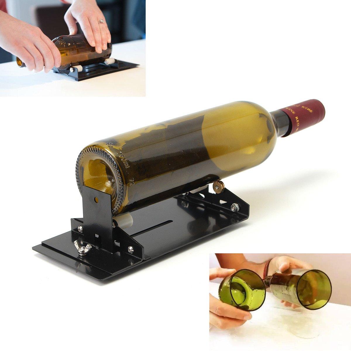 OlogyMart Glass Bottle Cutter Machine Cutting Tool Kit Diy Craft Cut Wine Jar Beer Recycle