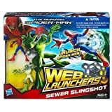 The Amazing Spider-Man Web Launchers Sewer Slingshot