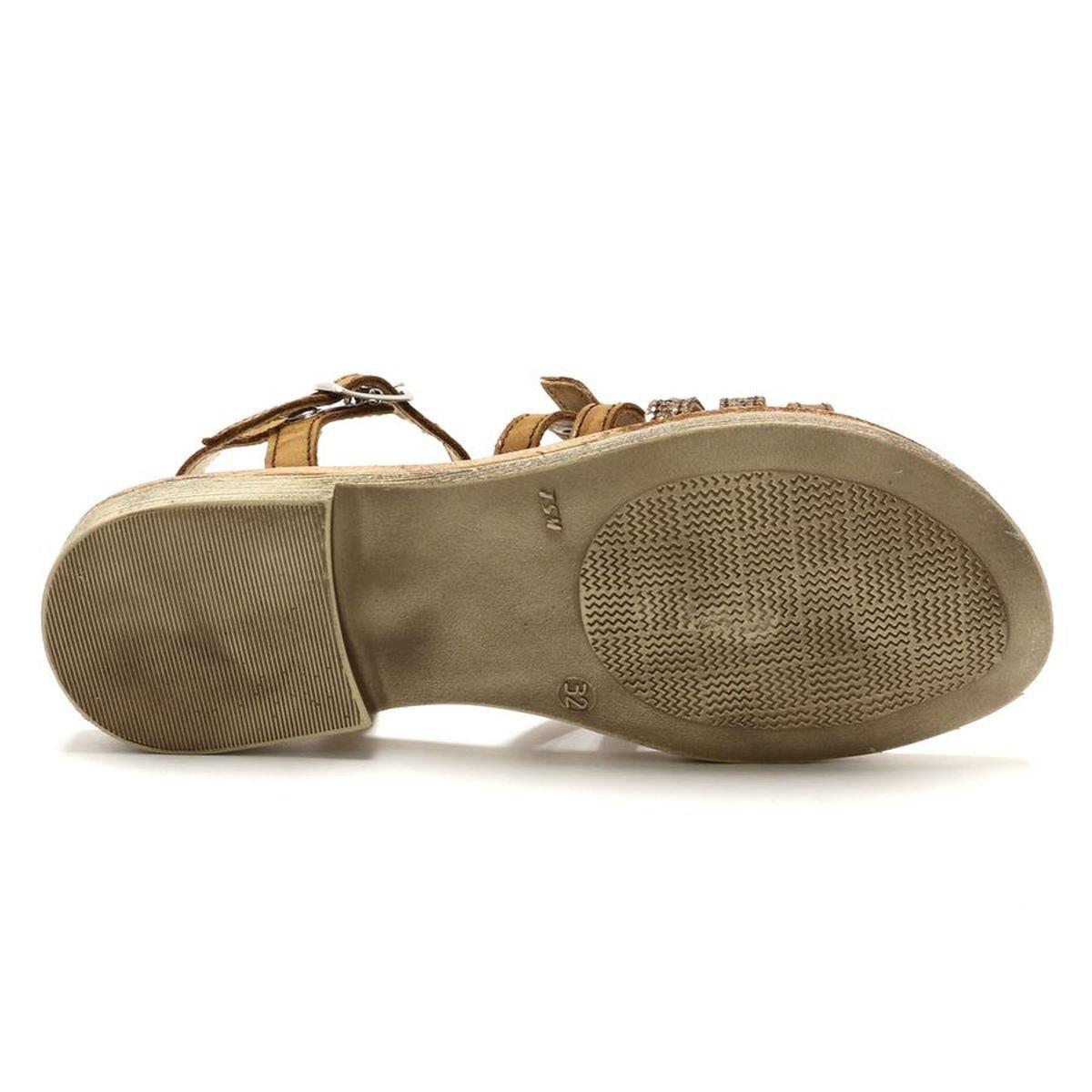 GBB Filles Bangkok Braun Sandalen/Sandaletten Marron-pailletten / Dpf / / / Coca 6f07e2