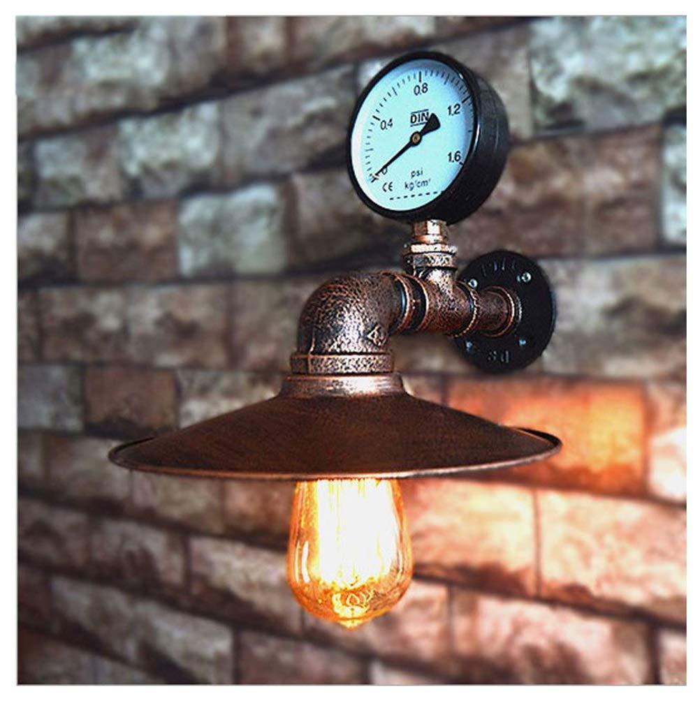 Hyvaluable Wandleuchten Wandbeleuchtung Loftlampen Nachgeahmt Wasserpfeife E27 Wandleuchte Lampe Schlafzimmer Restaurant Pub Cafe Bar Korridor Gang Licht Retro Wandleuchte -Innenbeleuchtung