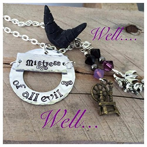 Amazon Com Maleficent Mistress Of All Evil Necklace Handmade