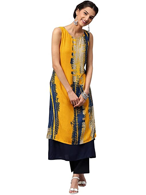 Libas Women's A-Line Kurta Kurtas at amazon