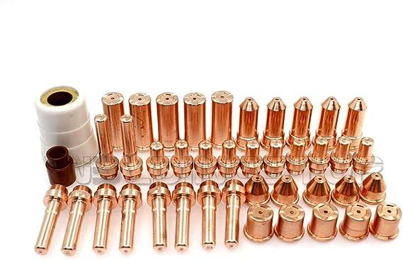 QTY-42 Kits for Eastwood Versa Cut 60 Plasma 14344 Electrode & 12814 Nozzle & 14557 Shield & 13788