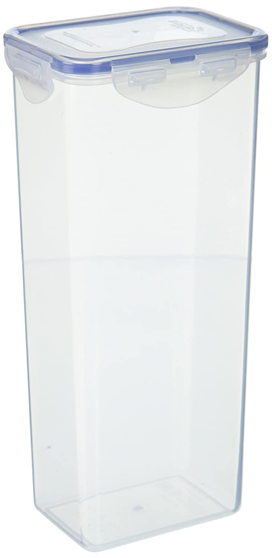 Lock & Lock Airtight Rectangular Tall Food Storage Container, Pasta Box 67.63-oz/ 8.45-cup (4)
