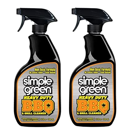 Simple Green 24 oz. Heavy-Duty Non-Aerosol BBQ and Grill Cleaner, Pack of 2