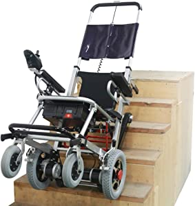 Mobility Scooter 400 lb Capacity-Power Wheelchair-Stair Lift- Electric Folding Mobility Aid-Disabled Aids,Can Climb up and Down Stairs