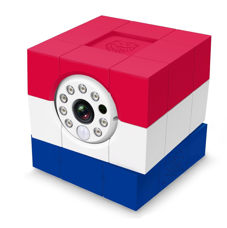 Amaryllo ACC1308A1NLUS iCam HD World First Skype HD Wireless IP Camera (Red/White/Blue) [並行輸入品] B019SZFHMS
