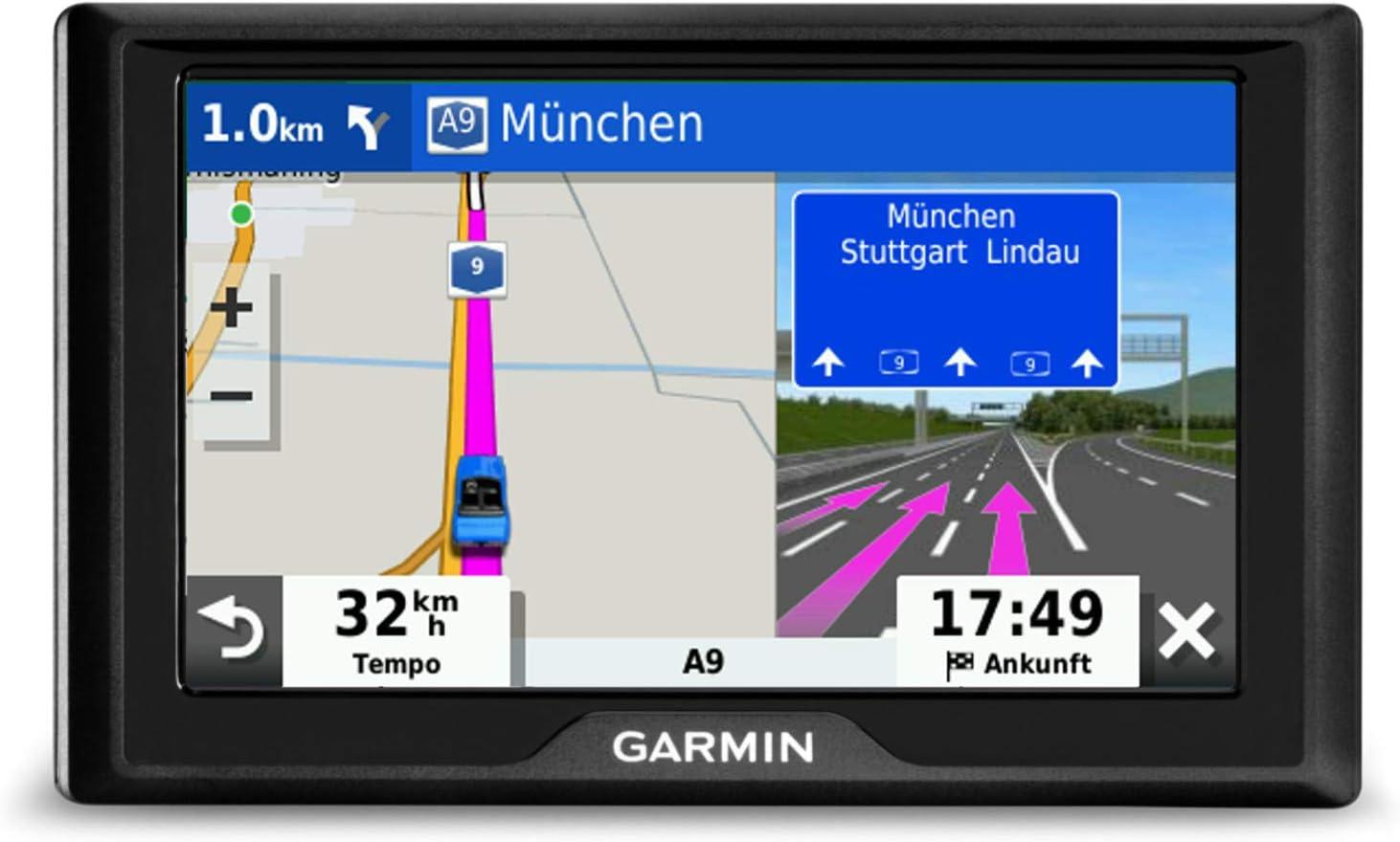 Garmin Drive 52 Eu Navi Rds Europakarten 5 Zoll Display Sicherheitspaket Parkplatzsuche Tripadvisor Pois Navigation