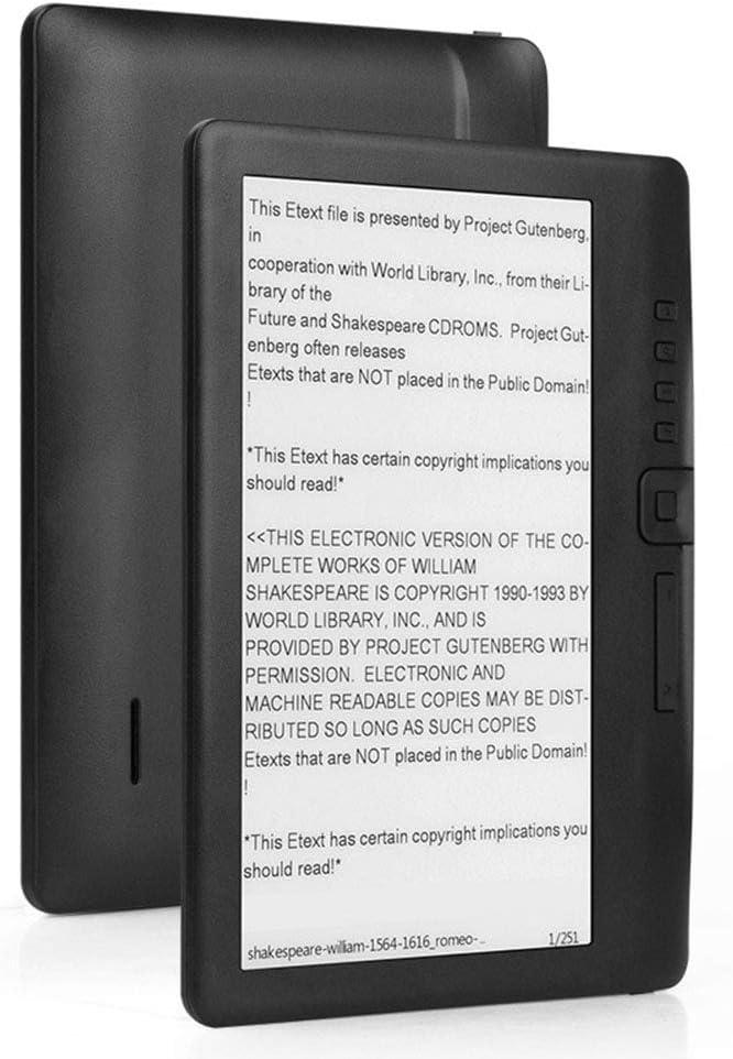 AXELEL Lector de Libros electrónicos de 7 Pulgadas Inteligente con ...