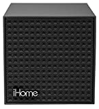 iHome Bluetooth Rechargeable Mini Speaker Cube - Black