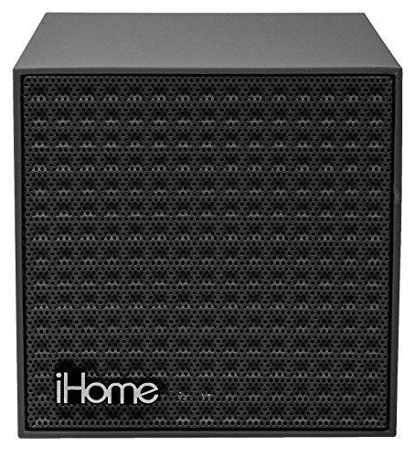 047532901368 - iHome Bluetooth Rechargeable Mini Speaker Cube - Black carousel main 1