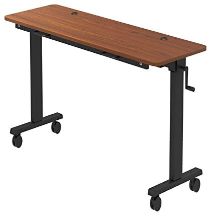 Surprising Stand Up Desk Store Adjustable Height Training Table Flip Top Table Conveniently Nests And Rolls Away For Easy Storage Teak 60 Interior Design Ideas Clesiryabchikinfo