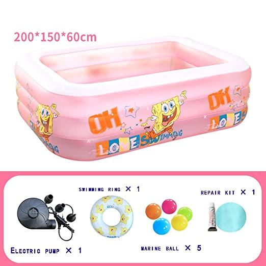 Swimming pool Piscina Inflable Rectangular for niños Inflable ...