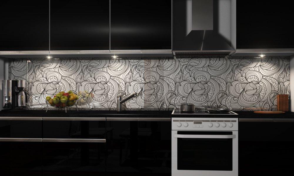 k chenr ckwand holz. Black Bedroom Furniture Sets. Home Design Ideas