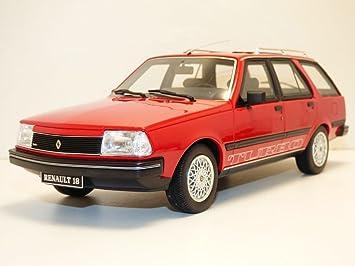 Otto Mobile - Renault 18 Turbo Break - 1984 Coche en Miniatura de colección, ot269, Rojo 705: Amazon.es: Juguetes y juegos