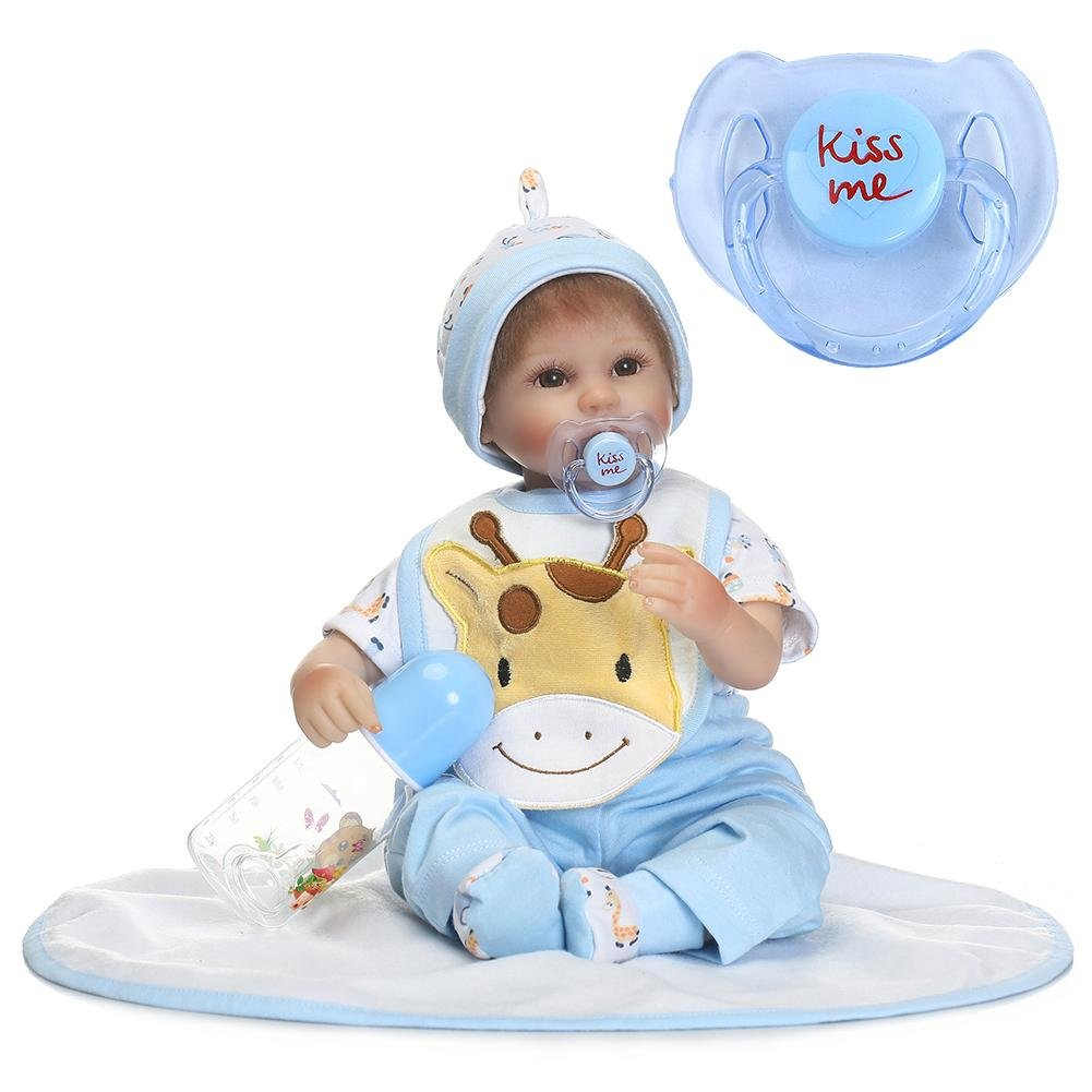 Darcylibisy Accesorios para chupetes Reborn Doll Supplies Dummy ...