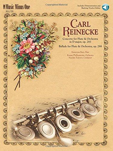 - Reinecke - Concerto for Flute & Orchestra & Ballade for Flute & Orchestra: Music Minus One Flute