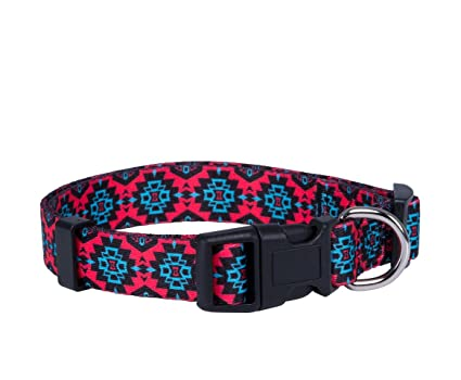 70f8719e3c7 Native Pup Aztec Dog Collar- Tribal Dog Collar- Designer Dog Collar (Large