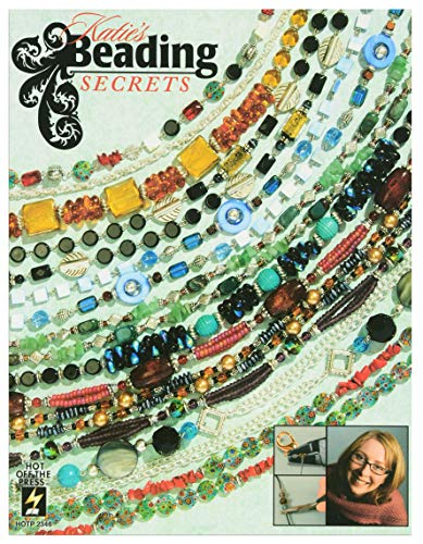 Crafting Books by Hot Off The Press | Over 100 Beautiful Jewelry Pieces to Create with Beads (Katie's Beading Secrets) - Necklace Book Piece