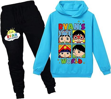 Ryan Toys Review Hoodie Sweatshirt Gift Girls Boys Kids Hoody Pullover Tops UK
