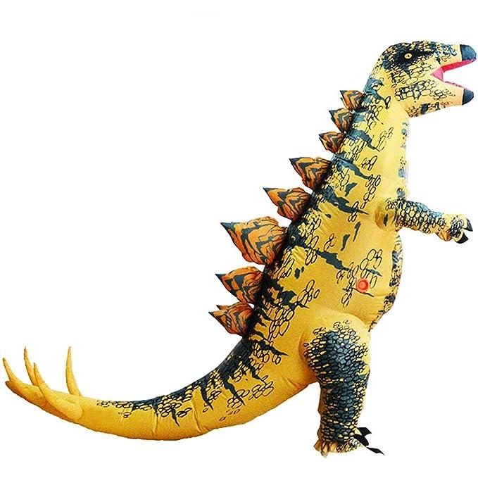 Amazon.com: Disfraz hinchable de dinosaurio de Huayuarts ...