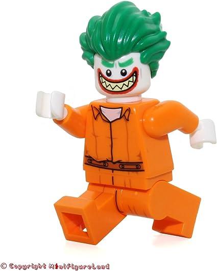 Amazon Com The Lego Batman Movie Minifigure Joker Prison Jumpsuit From Set 70912 Toys Games