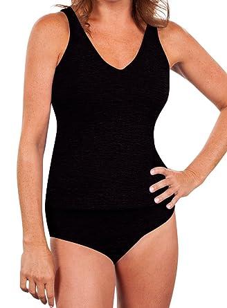 82797e9fc91 Amazon.com: Krinkle Women's 2pc High Back Tankini: Clothing