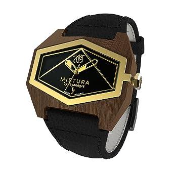 7cf2f93c8b Amazon.com: MISTURA INFINITE BLACK PUI BLACKGOLD: Mistura: Watches