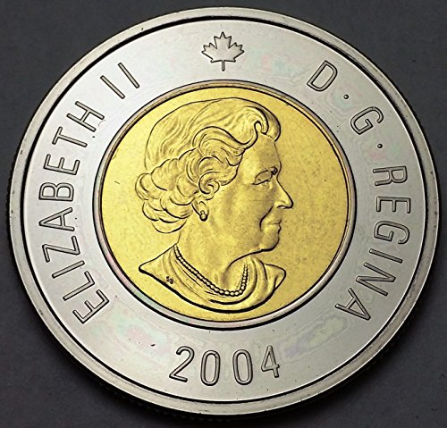 Unbranded 2004 CANADA $2 TWO DOLLAR TOONIEMINT CONDITION PROOF LIKE HIGH GRADE
