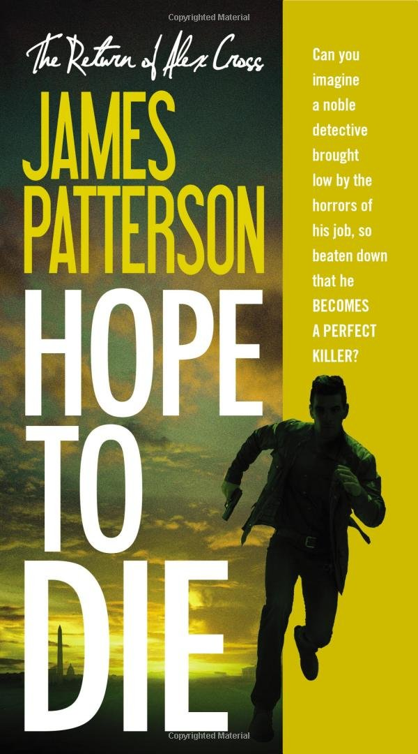 Hope Alex Cross James Patterson