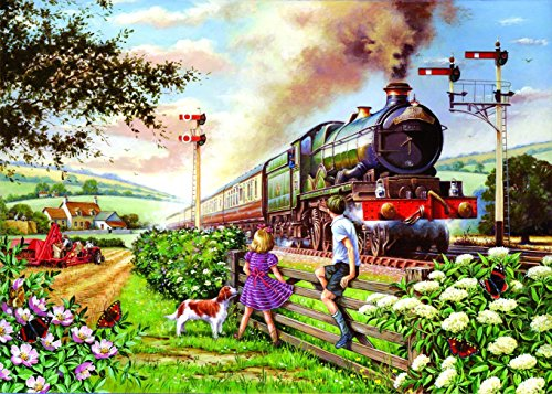 Big 500 Piece Jigsaw Puzzle Railway Children - Train Theme