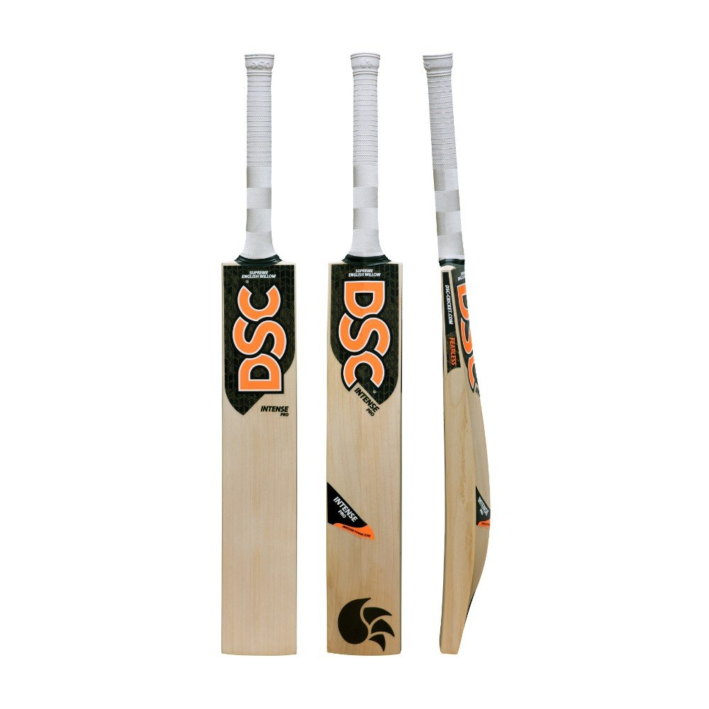 DSC Intense Pro English Willow Cricket Bat Short Handle Mens