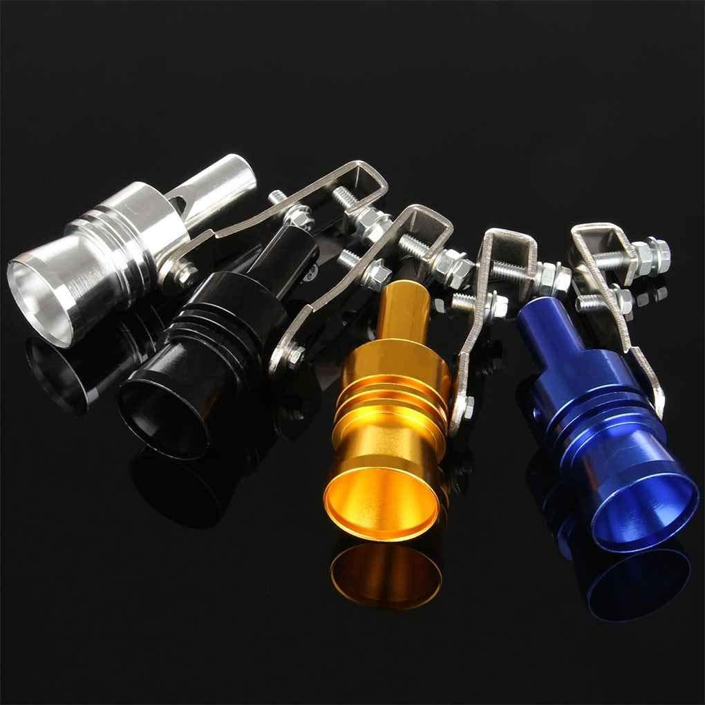 Busirde Universal Car Turbo Whistle Automobile Che ripara la Turbo Whistle del Tubo di Scarico Sound Turbo Tail