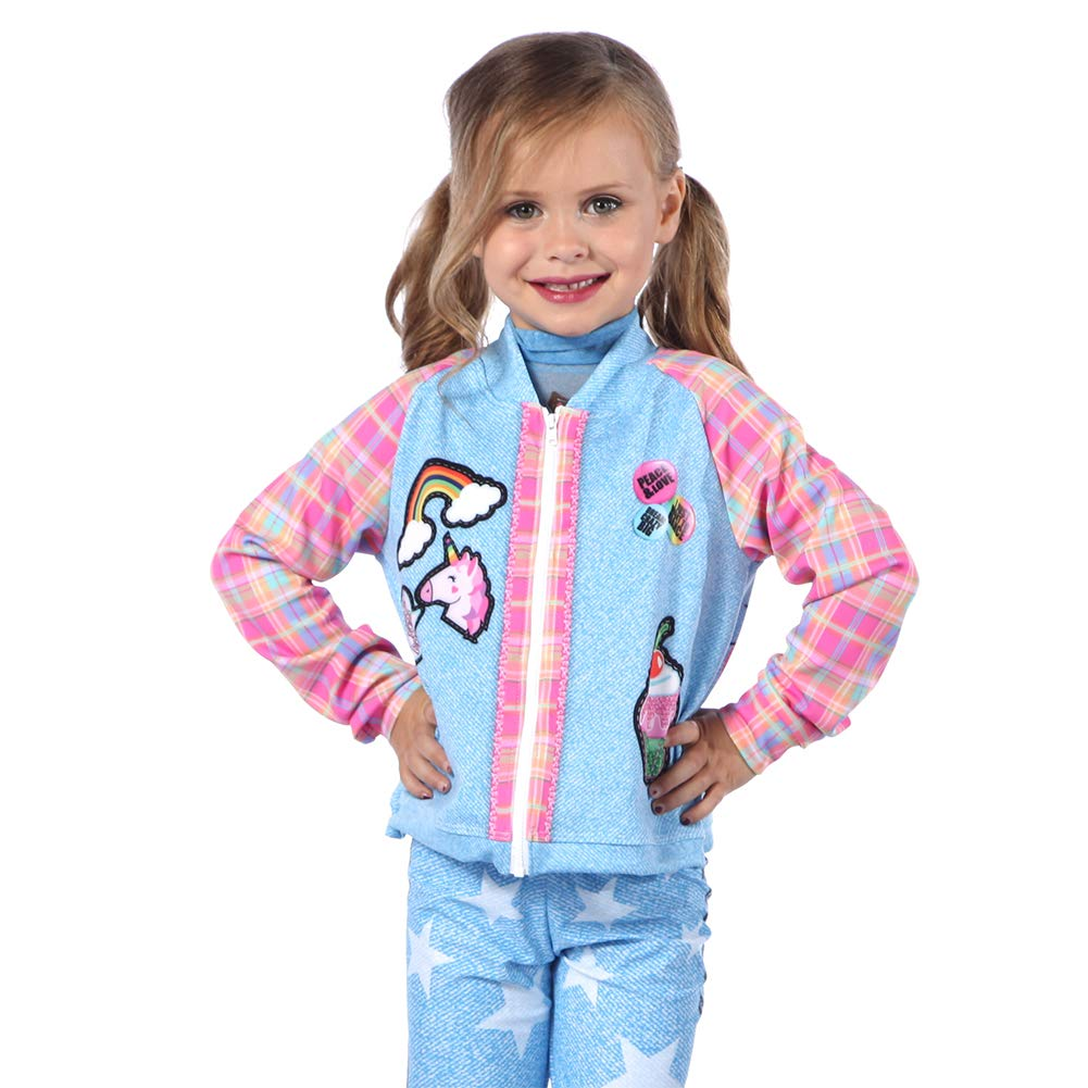Alexandra Collection Youth Boomerang Dance Costume Performance Jacket Multi Youth Large by Alexandra Collection