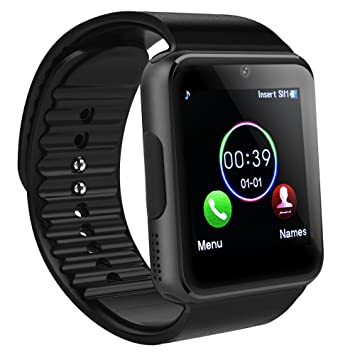 Reloj inteligente Bluetooth, SAINKO Smartwatch Smart reloj de ...