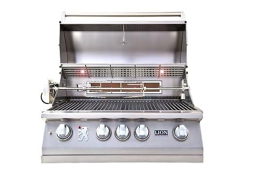 6. LION L75000 Built-in Premium BBQ Liquid Propane Grill