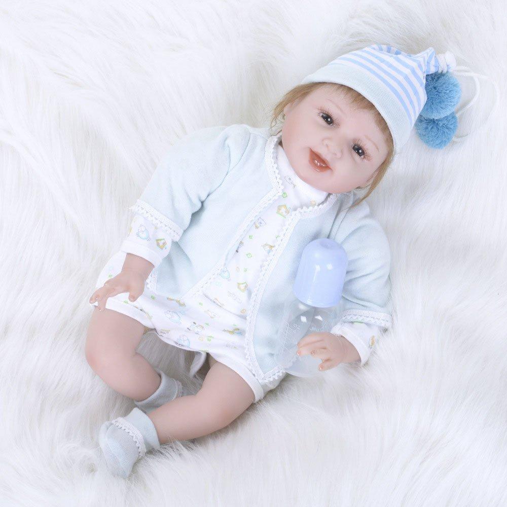 GAOYY Reborn Neugeborenes Baby Realike Realike Realike Puppe Handgemachte Lebensechte Silikon,55cm 06ee89