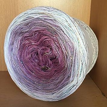Farbverlaufsgarn Bobbel Wolle Häkeln 200 Gramm 501 Amazonde Garten