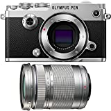 Olympus PEN-F 20MP Mirrorless Micro Four Thirds Digital Camera w/ 40-150mm Lens Bundle includes PEN-F Digital Camera and M.Zuiko 40-150mm f4.0-5.6 R Lens