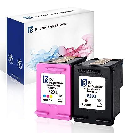 Merotoner - 2 Cartuchos de Tinta compatibles con HP 62 XL HP 62XL ...