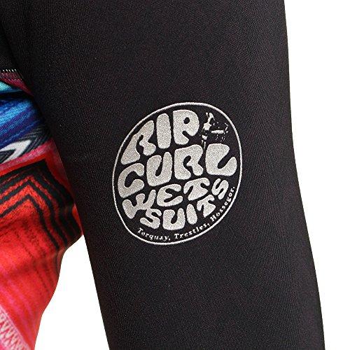 2016 Rip Curl Ladies 1mm G-Bomb Long Sleeve Neo Jacket Black/Grey WVE4KW
