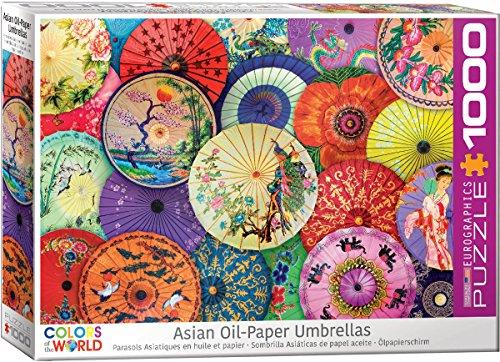 EuroGraphics Asian Oil Paper Umbrellas 1000Piece Puzzle