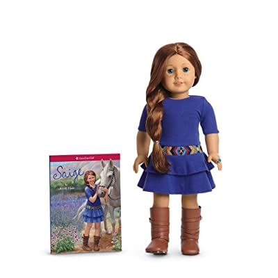 American Girl of 2013 Saige Doll & Paperback Book: Toys & Games