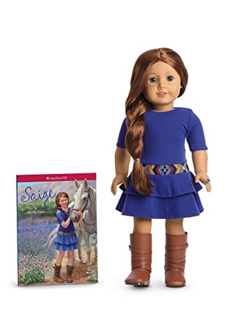 amazon com american girl of 2013 saige doll paperback book toys