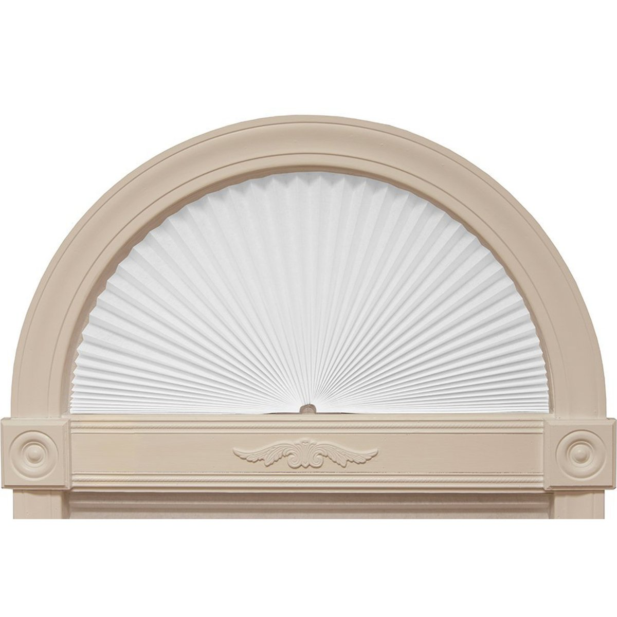 Redi Shade Fabric Arched Window Shade, 24-inches