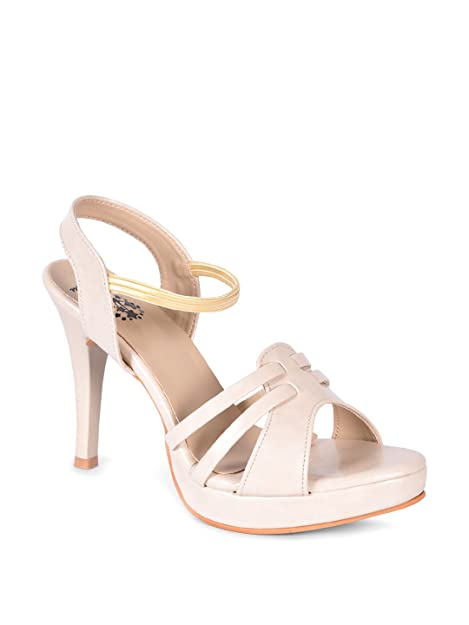 242e567b2820 meriggiare Women Off White Stiletto  Buy Online at Low Prices in ...