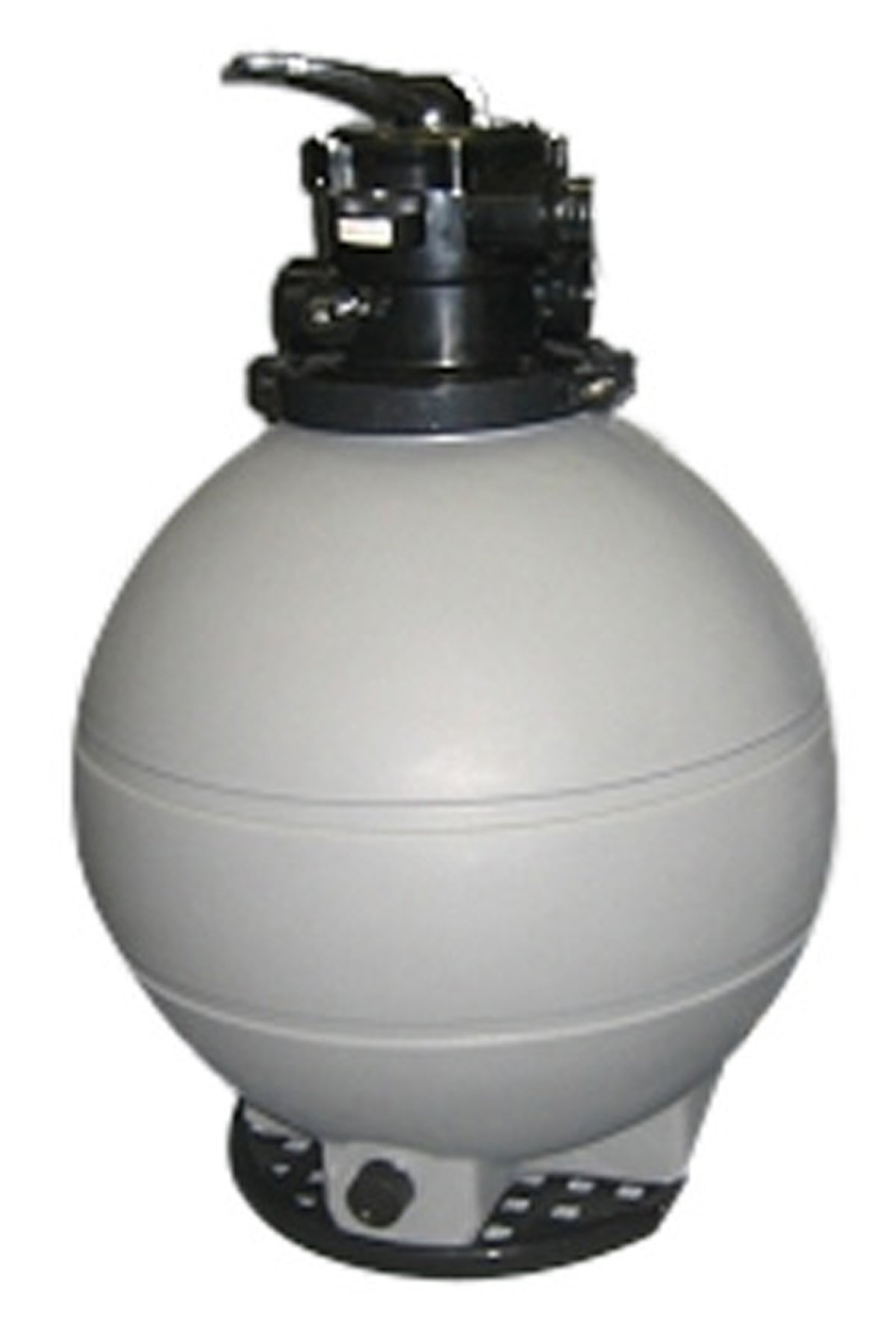 Rx Clear Patriot Sand Filter | Compatible with Intex/Pop Up Above Ground Pools | 22 Inch | 200 Lb Sand Capacity | for Above Ground Swimming Pools Up to 22,000 Gallons by Rx Clear