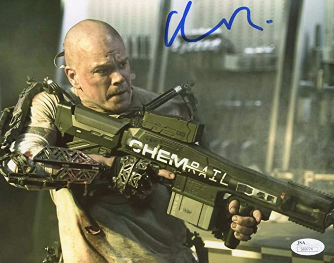 Entertainment Memorabilia Matt Damon Signed 8x10 Photo Jsa Coa Movies