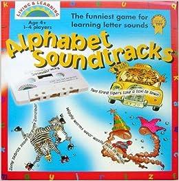 alphabet soundtracks amazon co uk living learning books